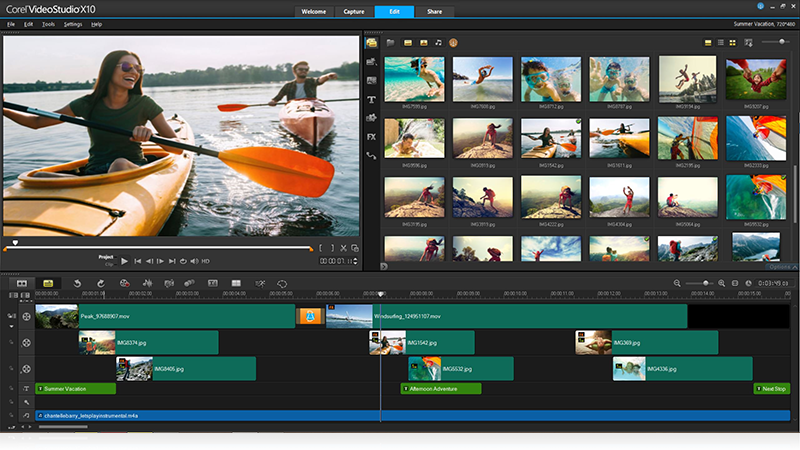 专业而简单易用的视频编辑软件VideoStudio(会声会影) X10 v20.1.0.14 旗舰版X64及X86附注册机